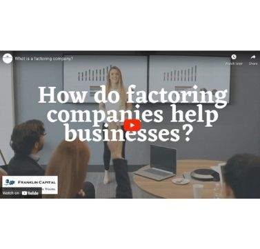 How do factoring companies help businesses